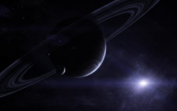 Sci Fi - Planetary Ring Wallpapers and Backgrounds ID : 419638