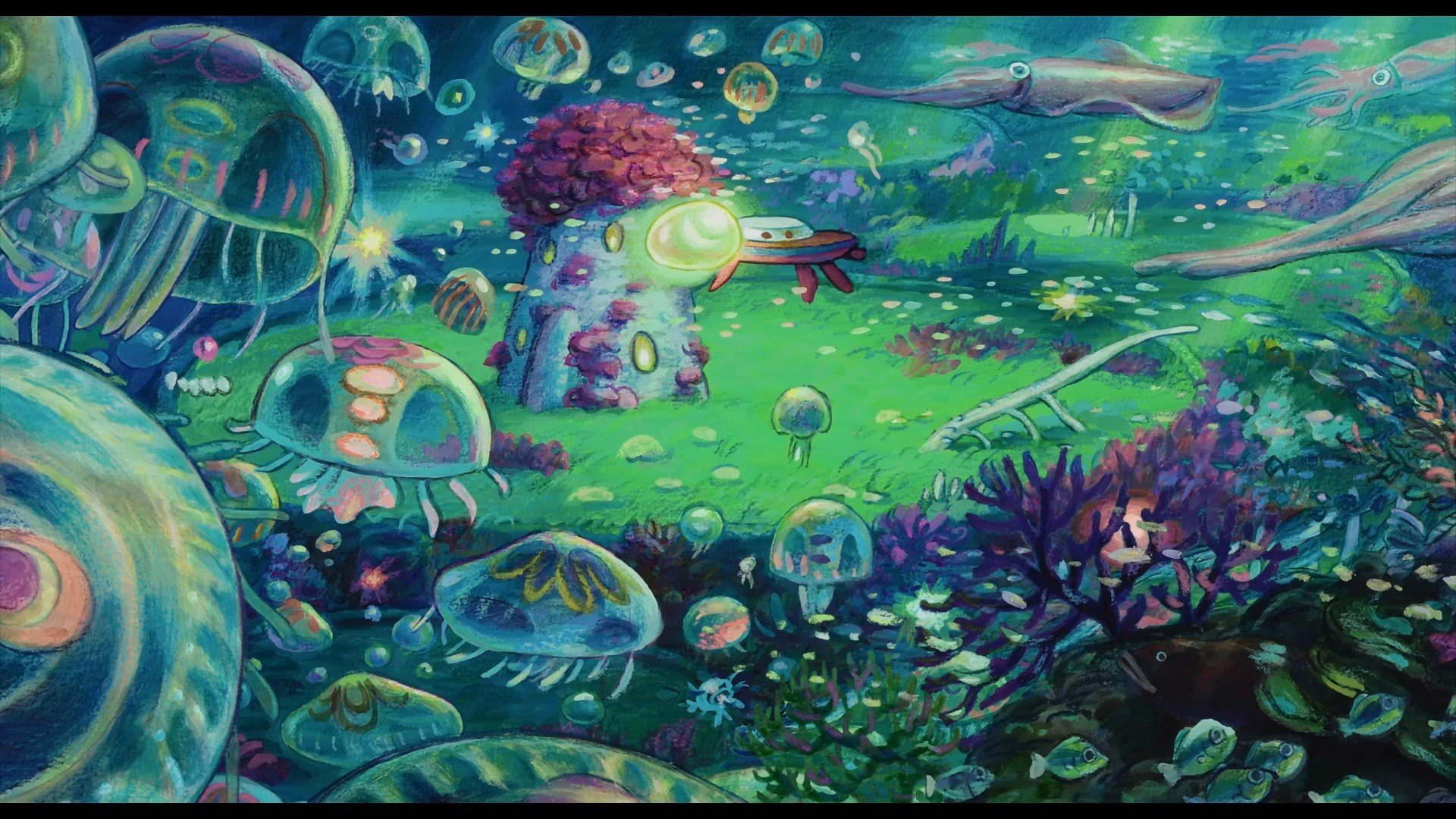 Hd Ghibli Wallpaper 1080: Ponyo HD Wallpaper