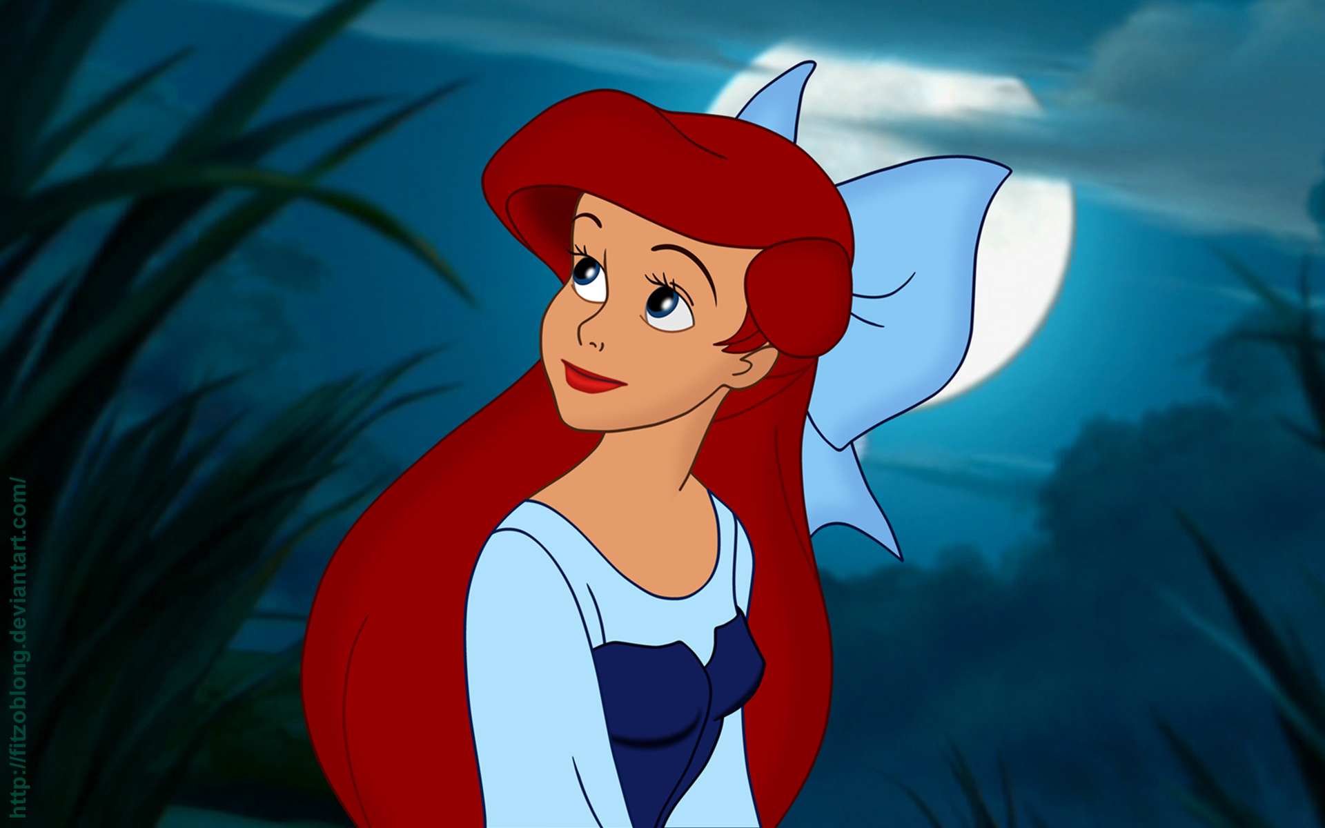 The Little Mermaid (1989) HD Wallpaper | Background Image ...