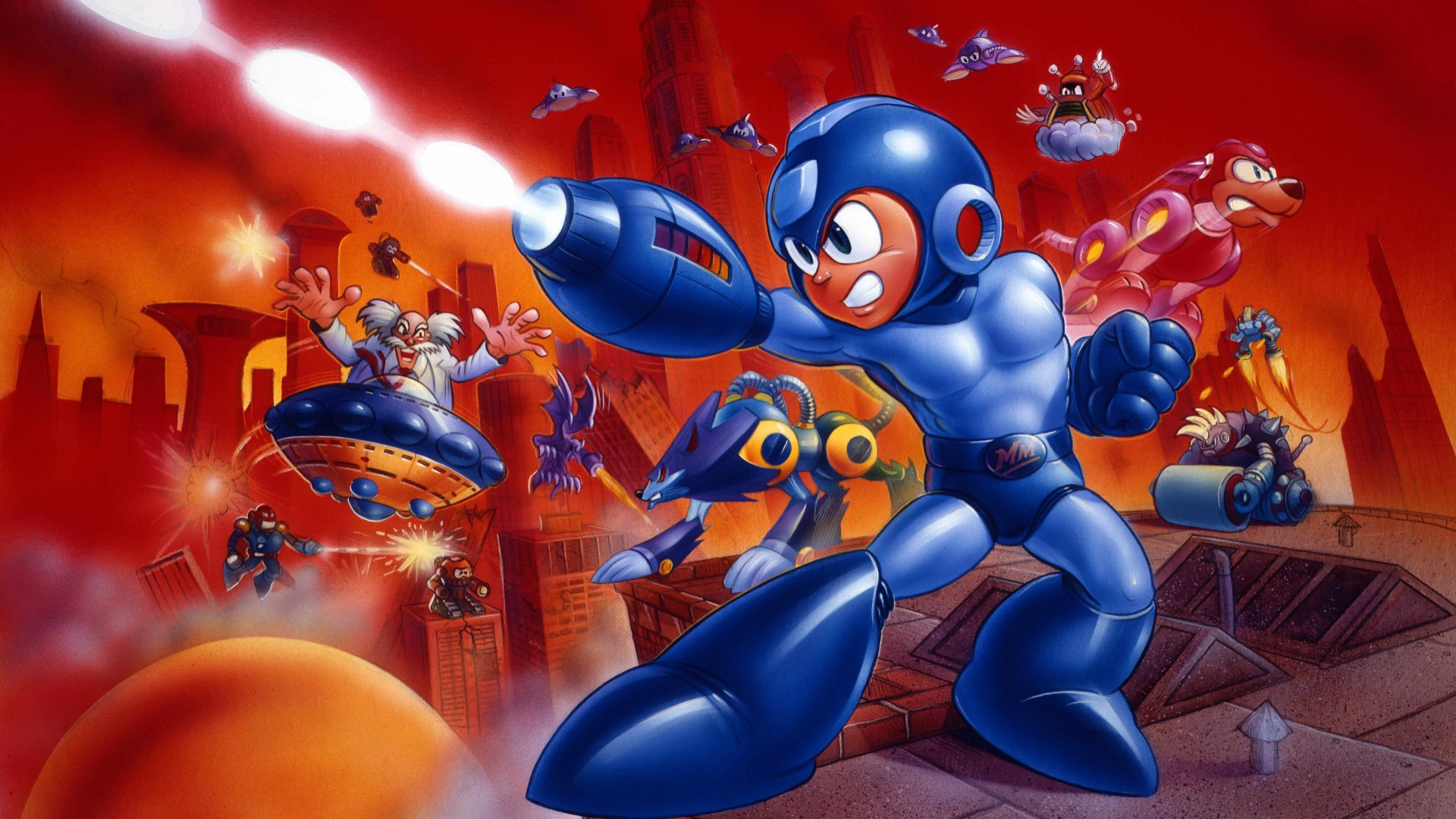 mega man 7 computer wallpapers desktop backgrounds