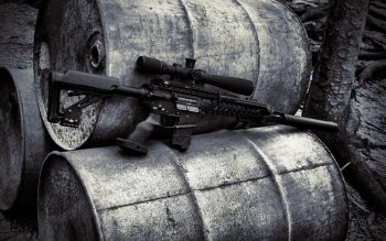 Weapons - Assault Rifle Wallpapers and Backgrounds ID : 420389