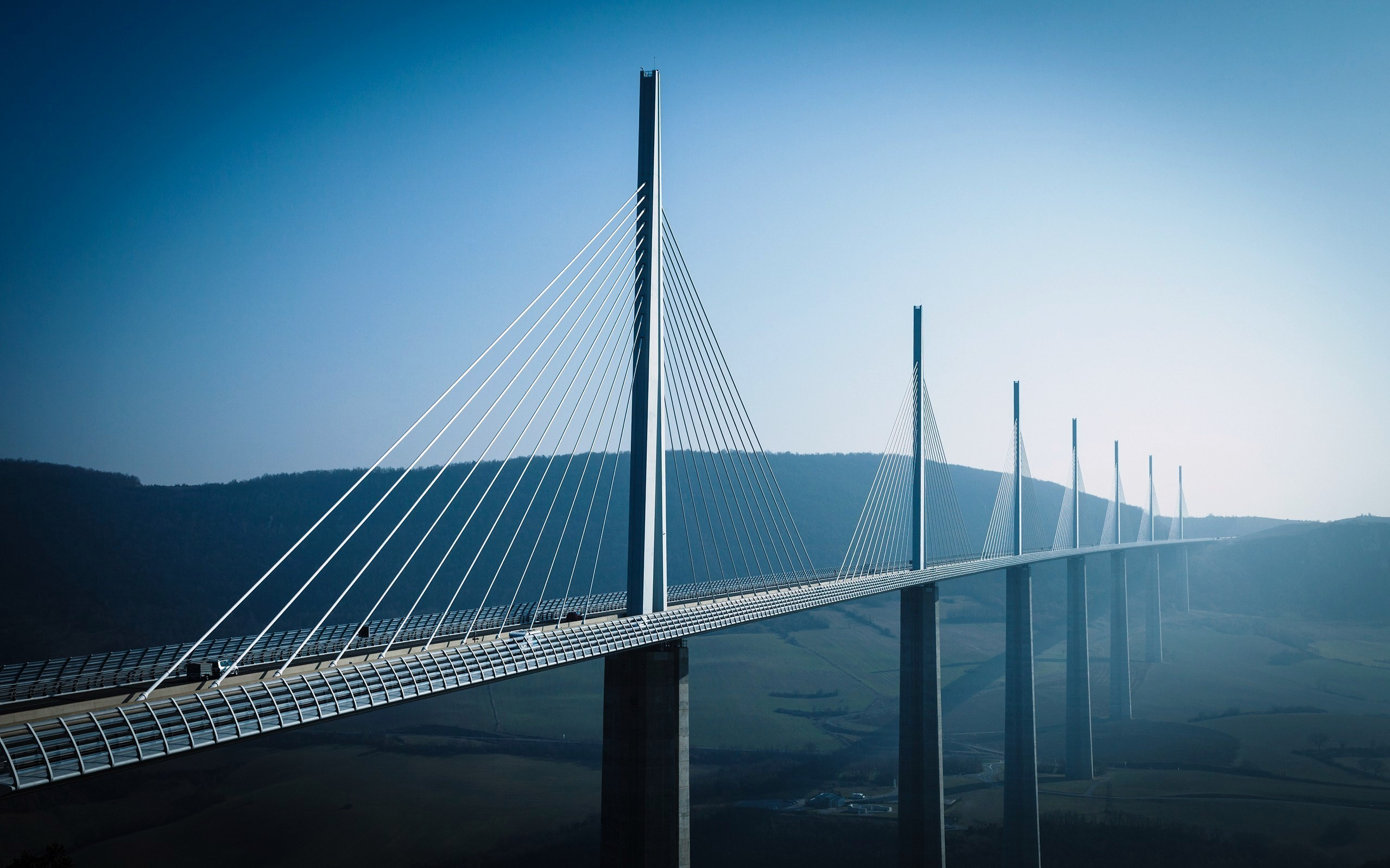6 Millau Viaduct HD Wallpapers | Backgrounds - Wallpaper Abyss