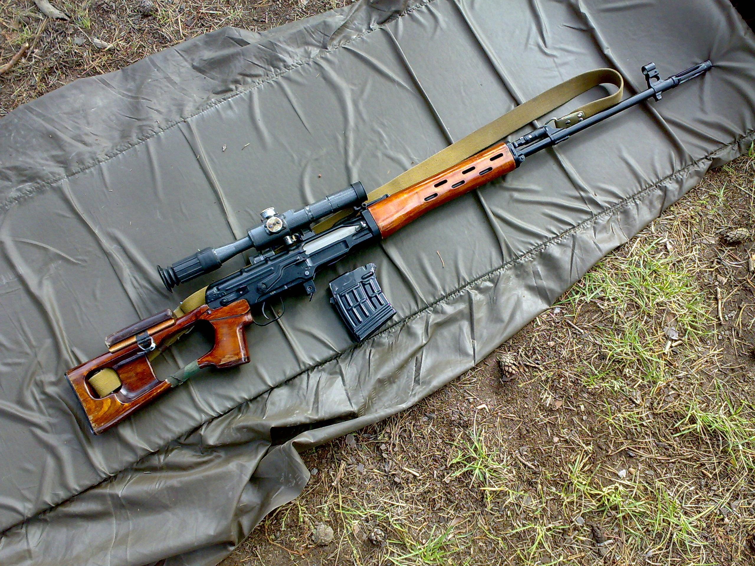 1 Dragunov Sniper Rifle HD Wallpapers