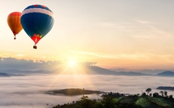 Vehículos - Hot Air Balloon Wallpapers and Backgrounds ID : 422588