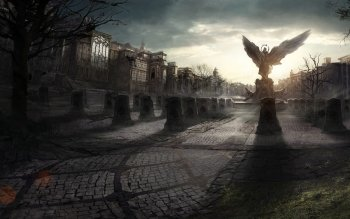 Dark - Cemetery Wallpapers and Backgrounds ID : 422963