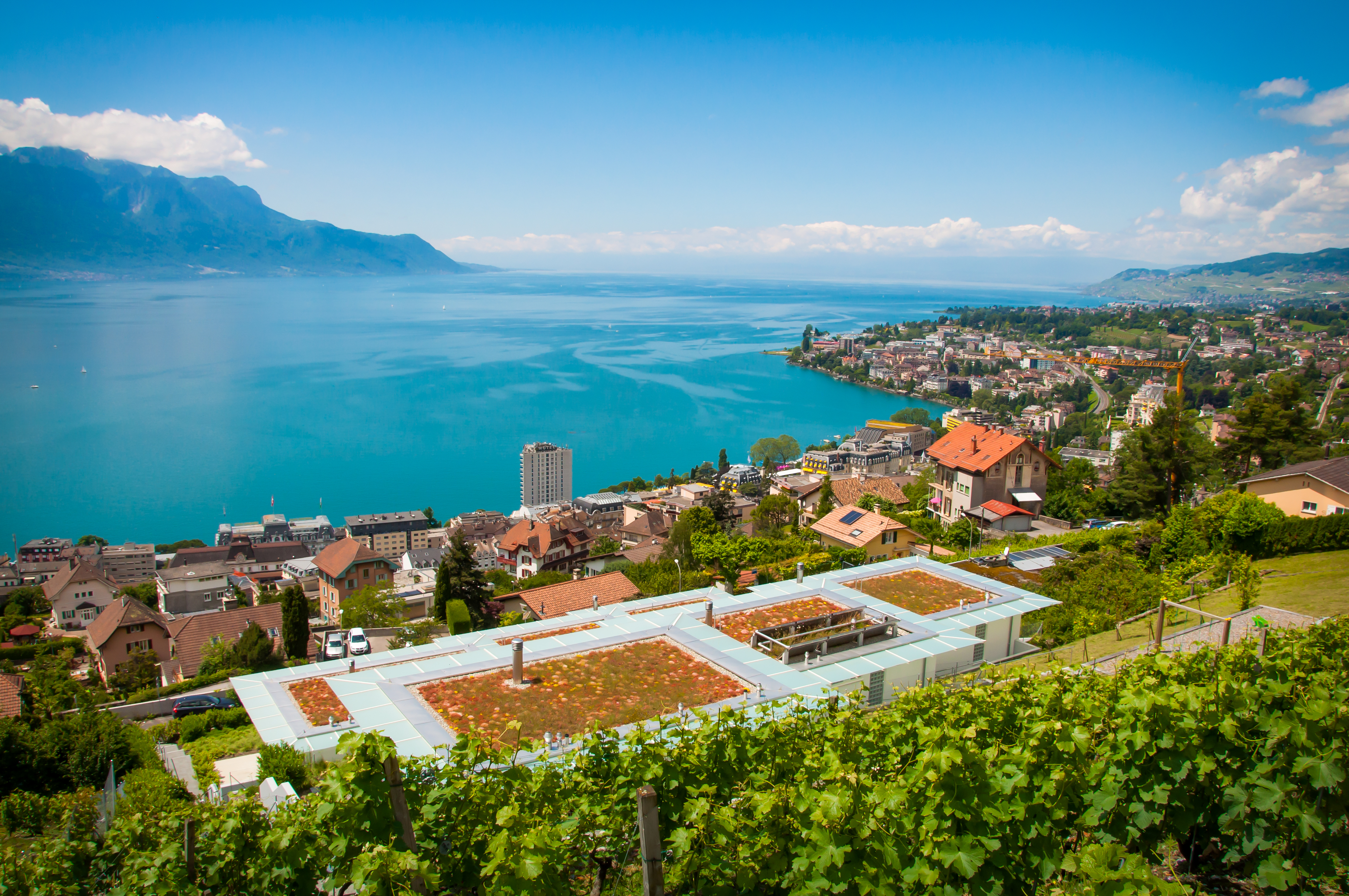 Montreux Switzerland  city pictures gallery : View of Montreux, Switzerland Computer Wallpapers, Desktop Backgrounds ...