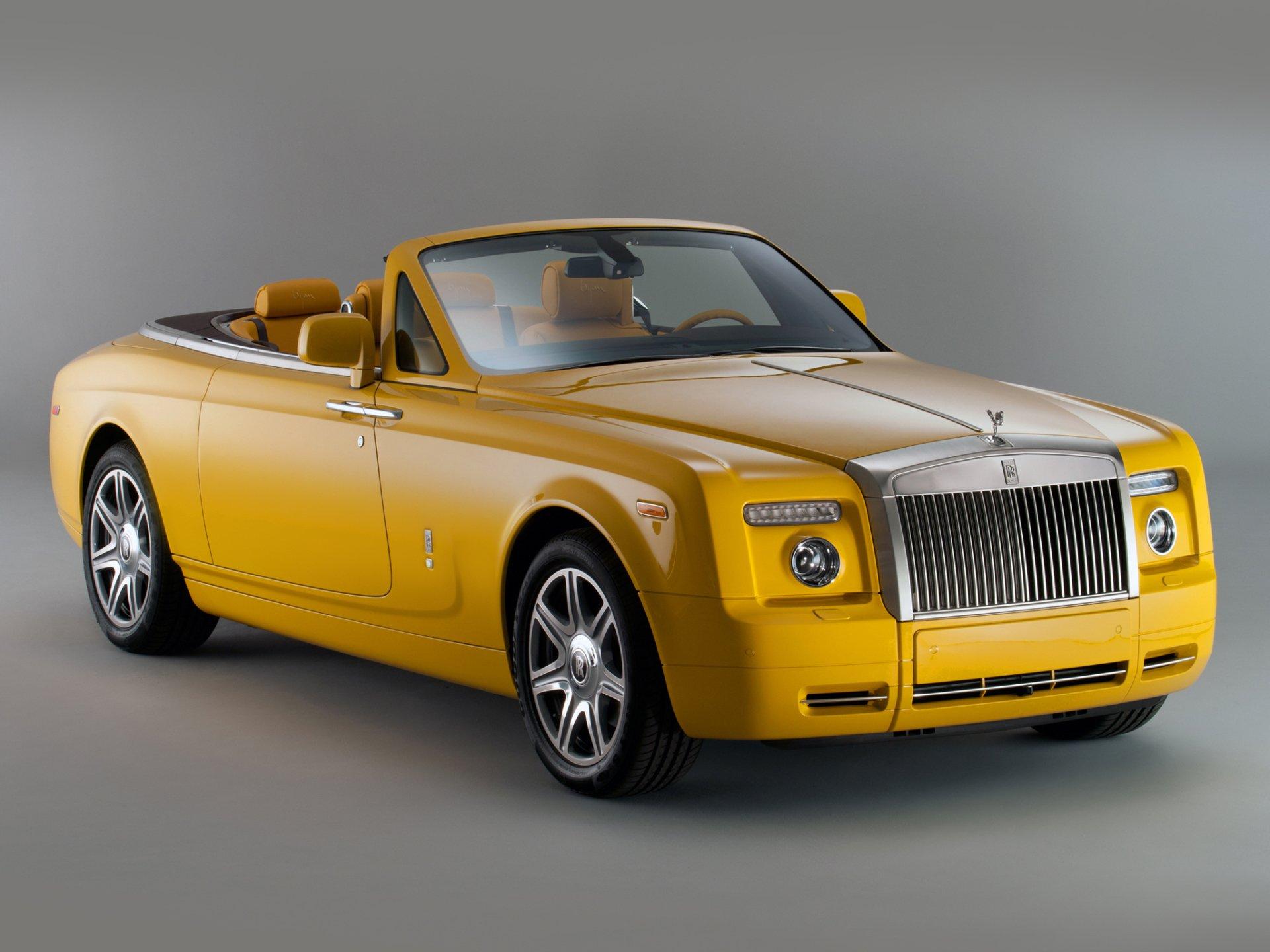 Rolls royce drophead coupe bijan edition 2011 full hd - Rolls royce wallpaper download ...