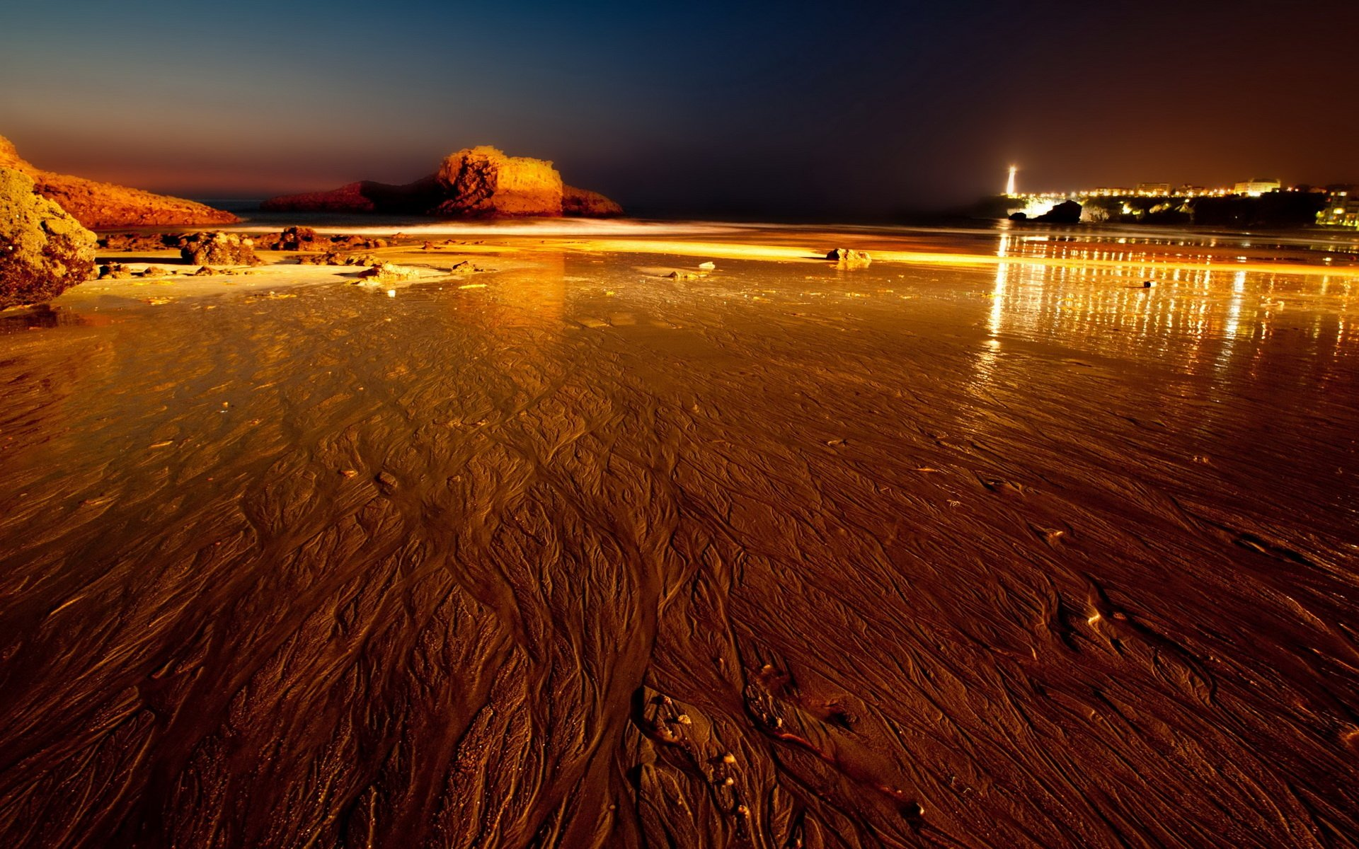 Biarritz Evening HD Wallpaper