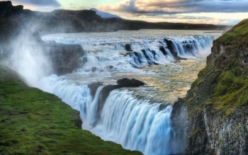 Earth - Gullfoss Wallpapers and Backgrounds ID : 424177