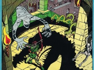 Preview Video Game - Advanced Dungeons & Dragons Art