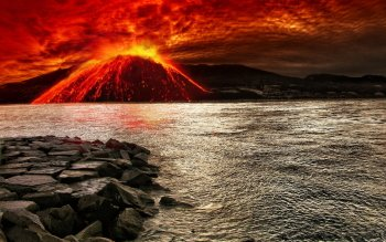 Earth - Volcano Wallpapers and Backgrounds ID : 425916