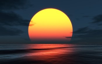 Earth - Sunset Wallpapers and Backgrounds ID : 426497