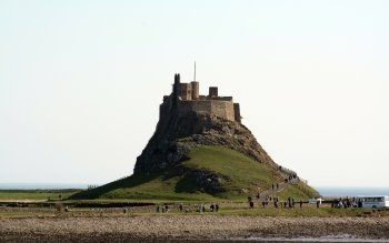 Man Made - Lindisfarne Castle Wallpapers and Backgrounds ID : 426852