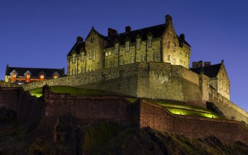 Man Made - Edinburgh Castle Wallpapers and Backgrounds ID : 427278