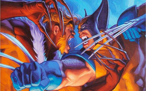 Comics X-Men Wolverine Sabertooth HD Wallpaper | Background Image