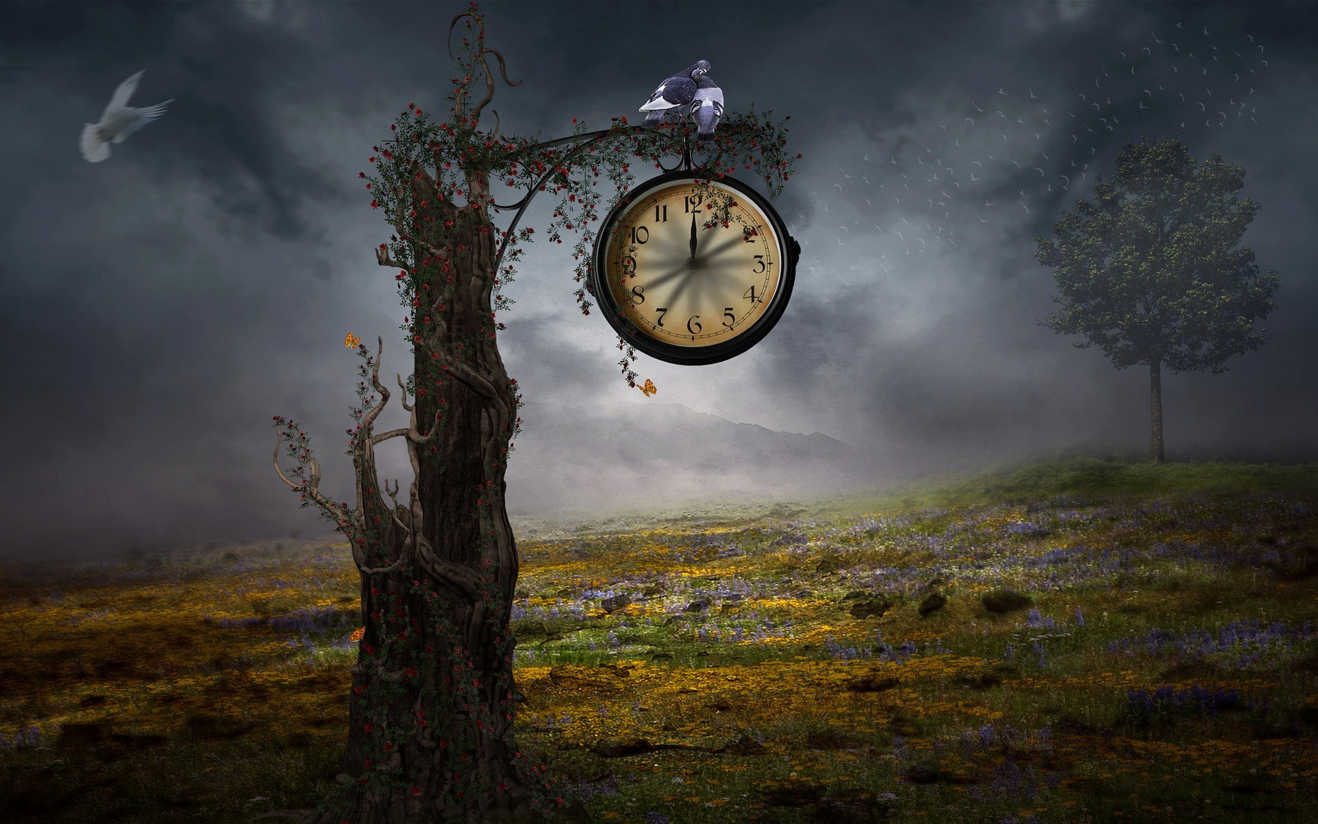 7 clock hd wallpapers backgrounds wallpaper abyss