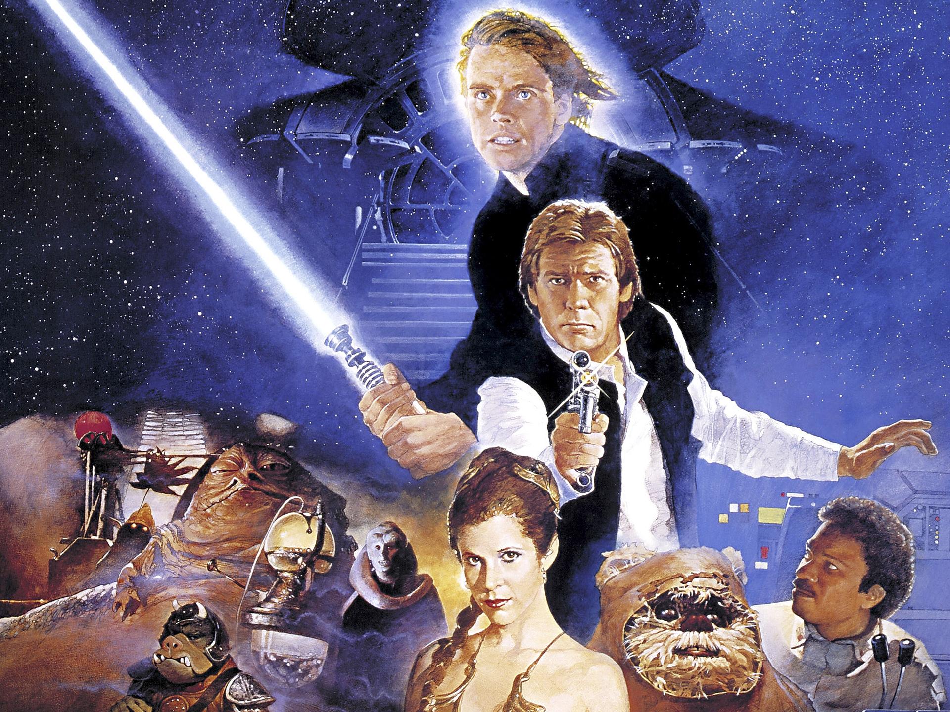 Star Wars Episode VI Return Of The Jedi Full HD Wallpaper And