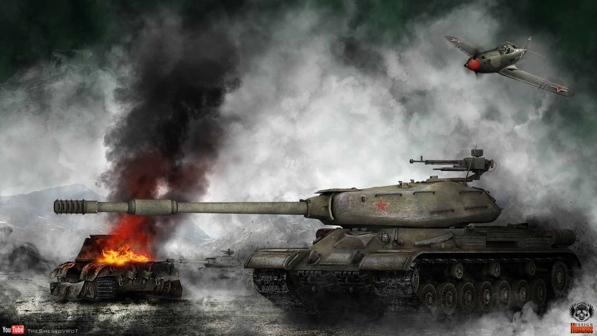 Video Game - World Of Tanks  Tank Video Game Wallpaper