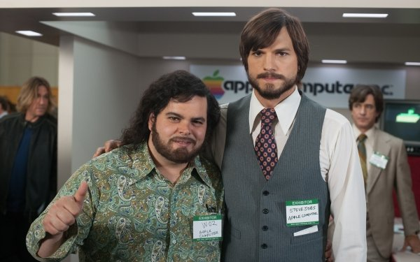 Movie Jobs Ashton Kutcher Josh Gad HD Wallpaper | Background Image