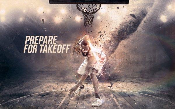 Sports Houston Rockets Basketball James Harden HD Wallpaper | Background Image