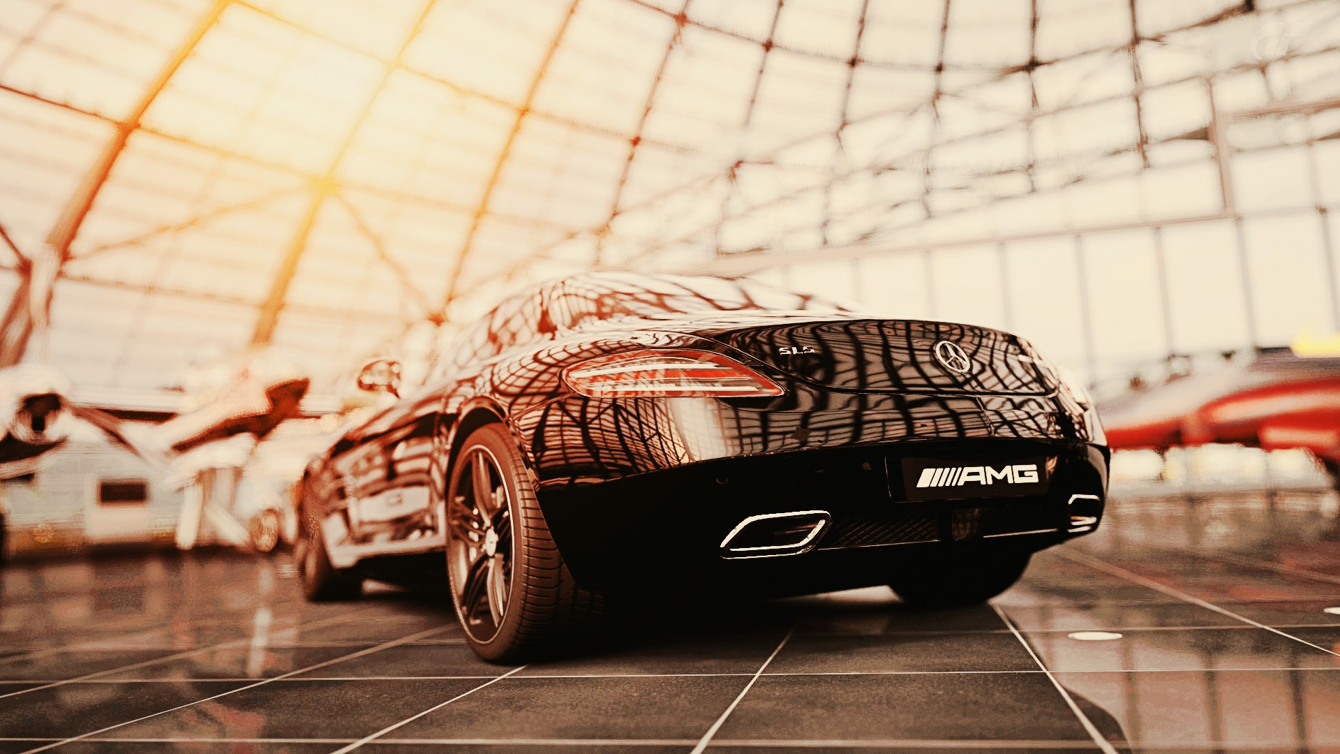 Mercedes Benz Sls Hd Wallpaper Background Image 1920x1080 Id