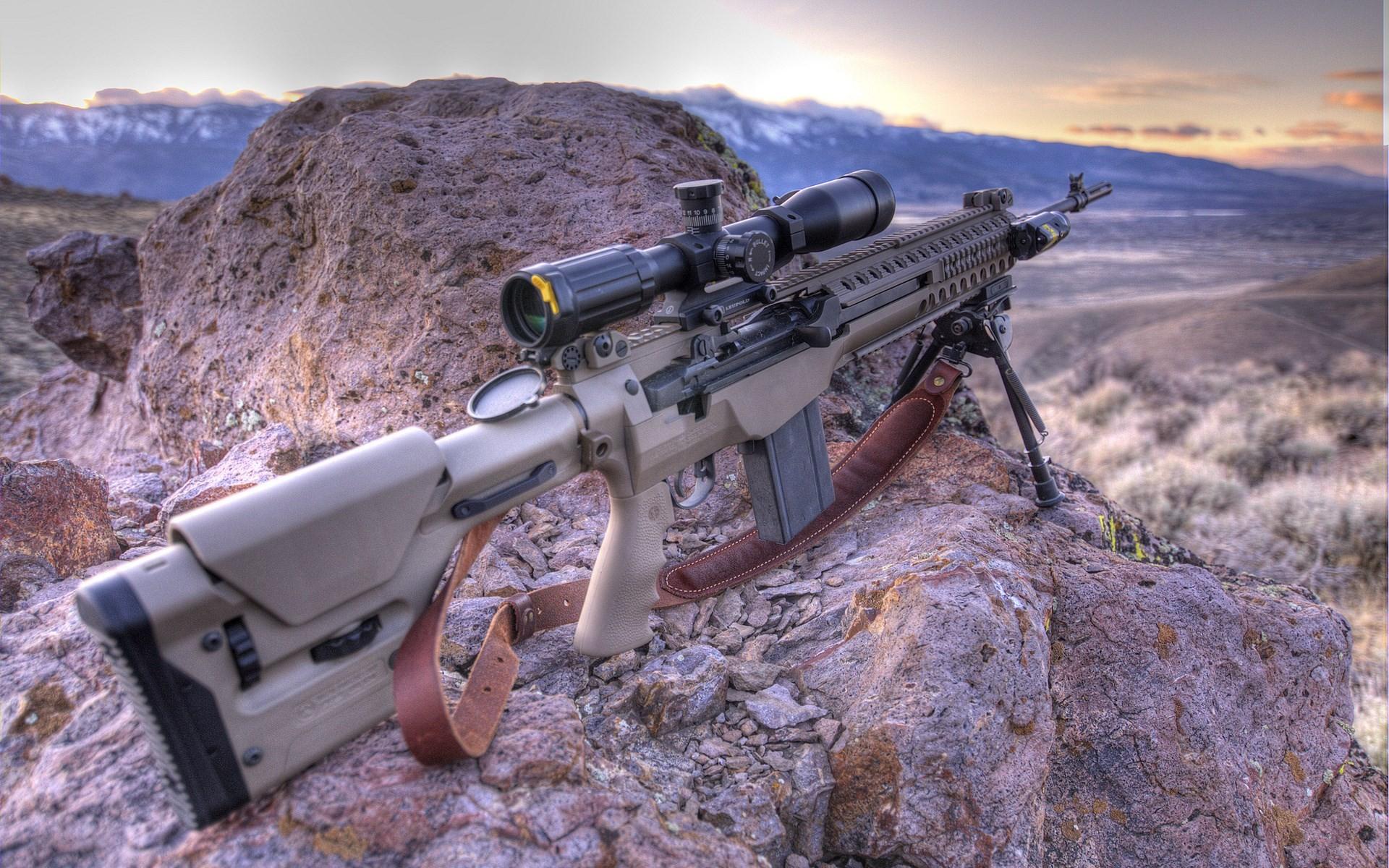 Springfield Armory M1A HD Wallpaper