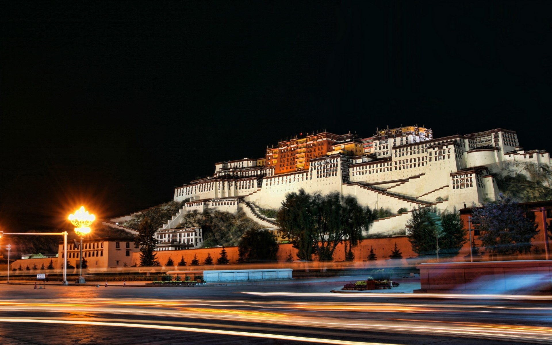 Man Made - Potala Palace  Wallpaper