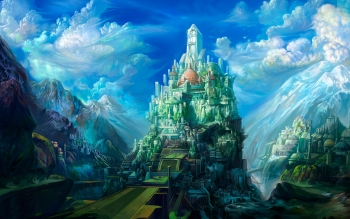Fantasy - City Wallpapers and Backgrounds ID : 429413