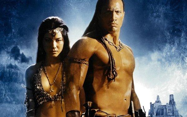 Movie The Scorpion King Dwayne Johnson Kelly Hu HD Wallpaper | Background Image