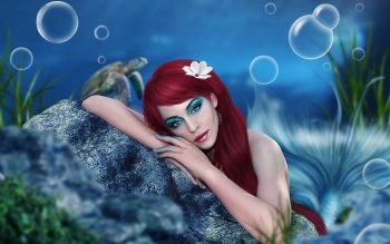 Fantasy - Mermaid Wallpapers and Backgrounds ID : 430498