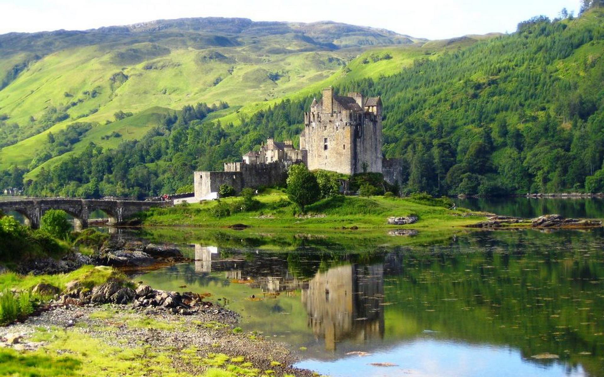 1366x768 eilean donan castle - photo #7