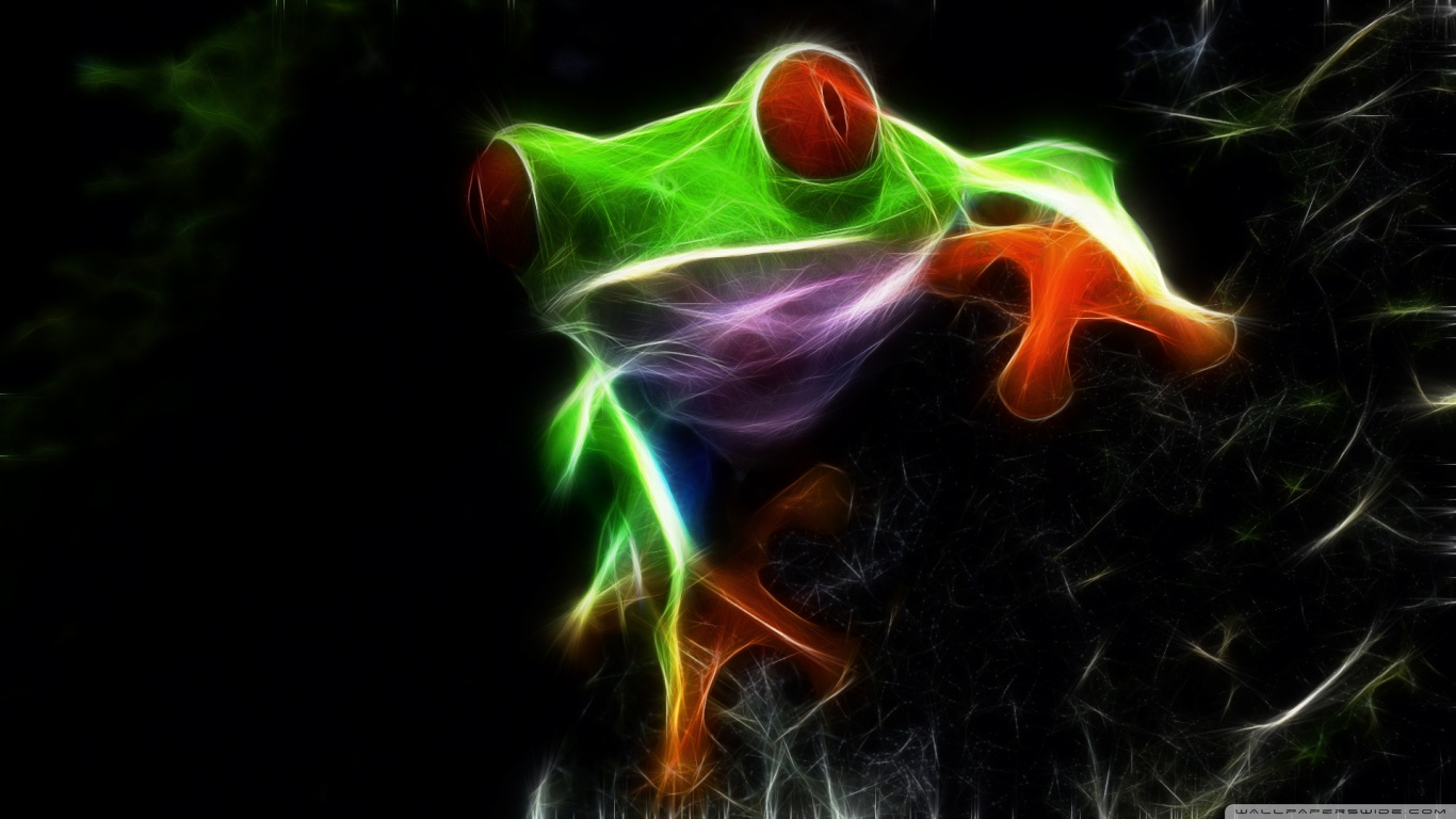 Red eyed tree frog wallpaper and background image - Frog cartoon wallpaper ...