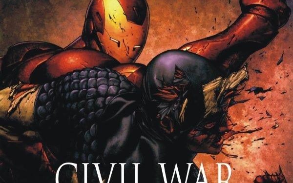 Bande-dessinées Civil War Iron Man Captain America Fond d'écran HD | Image