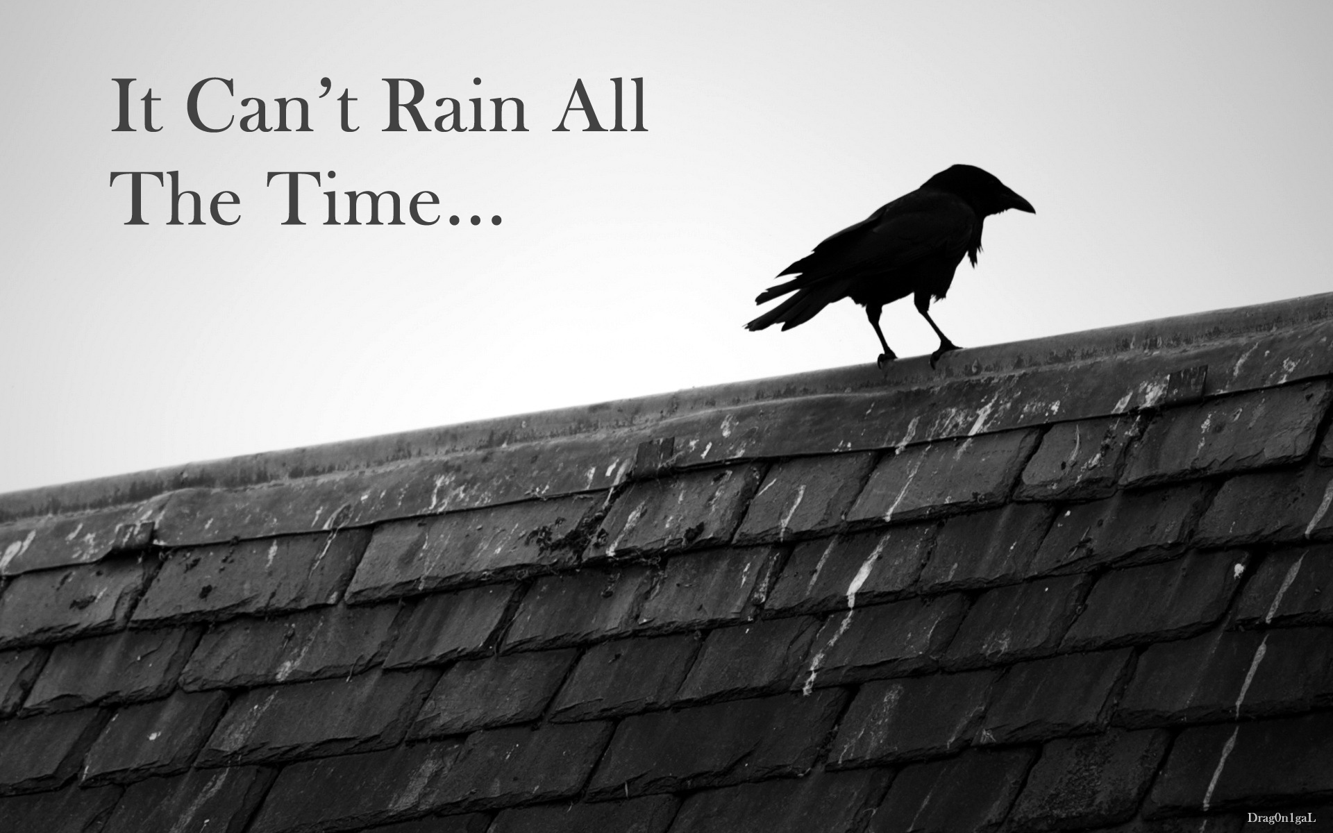 The crow Wallpaper - It Can't Rain All The Time Computer ...