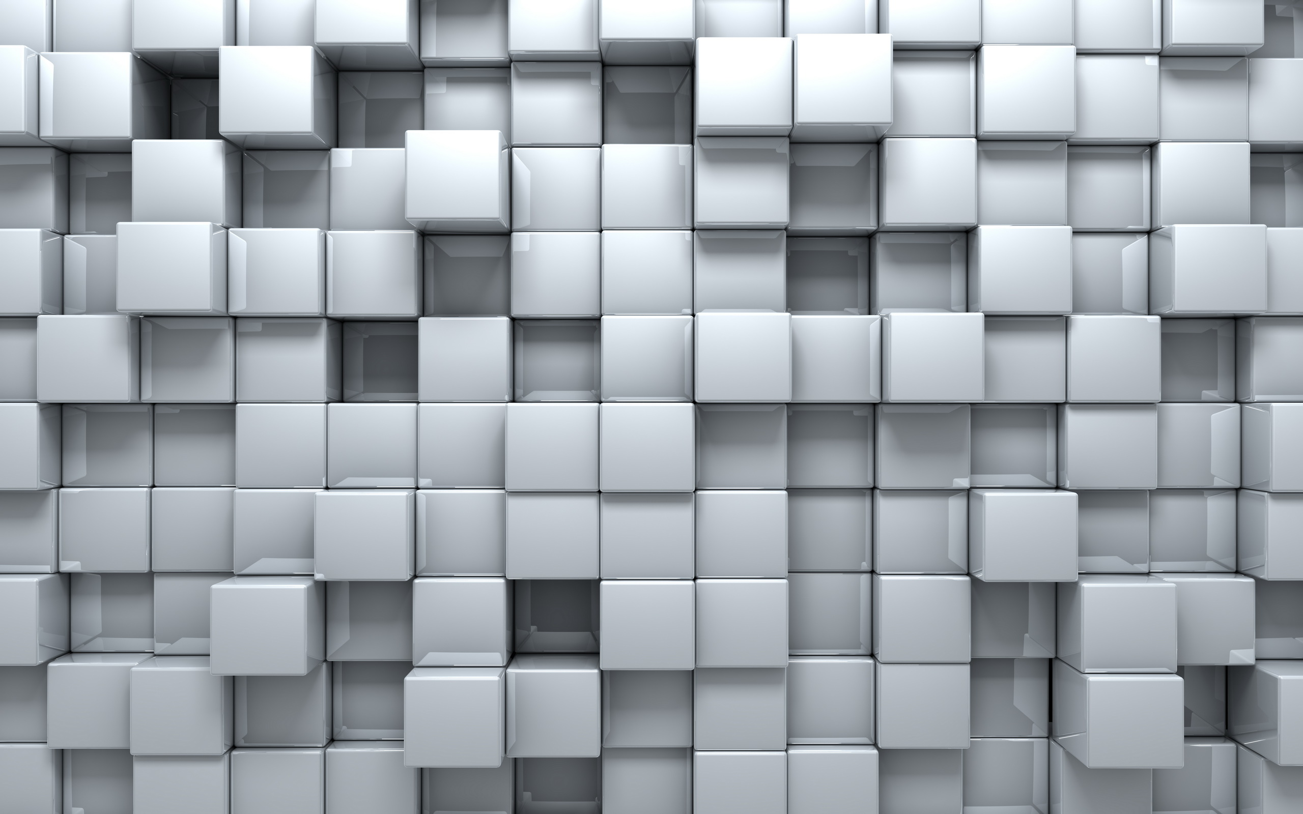 Cube full hd wallpaper and background image 2560x1600 for Wallpaper 3d white