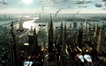 Science-Fiction - Großstadt Wallpapers and Backgrounds ID : 437183