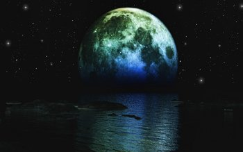 Sci Fi - Moon Wallpapers and Backgrounds ID : 437354