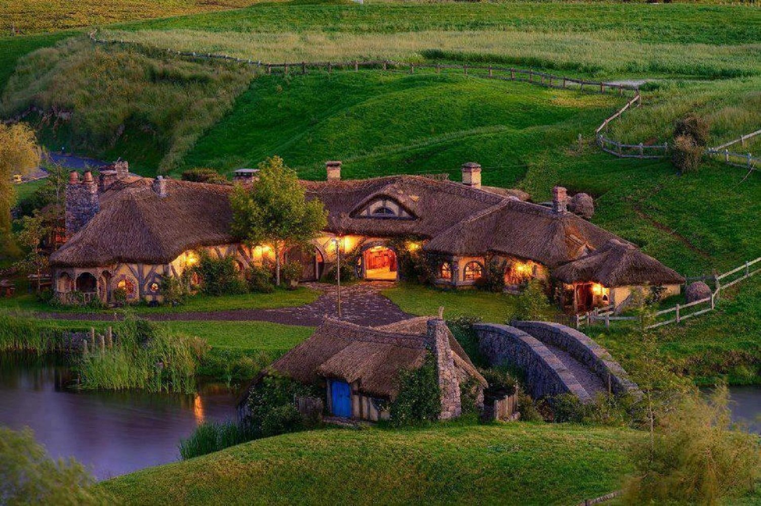 36 Hobbiton Hd Wallpapers Background Images Wallpaper Abyss