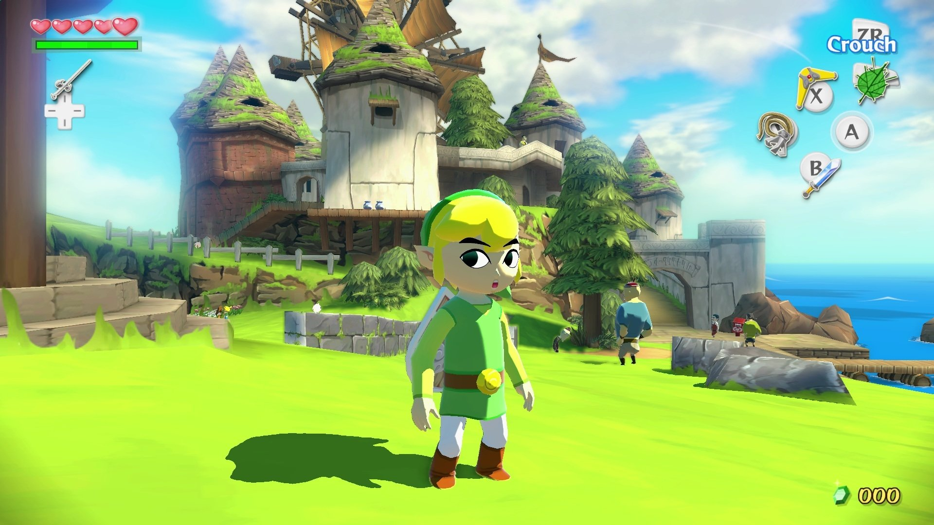 12 The Legend Of Zelda The Wind Waker Hd Hd Wallpapers