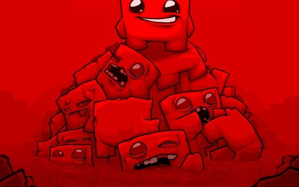 Video Game Super Meat Boy HD Wallpaper   Background Image