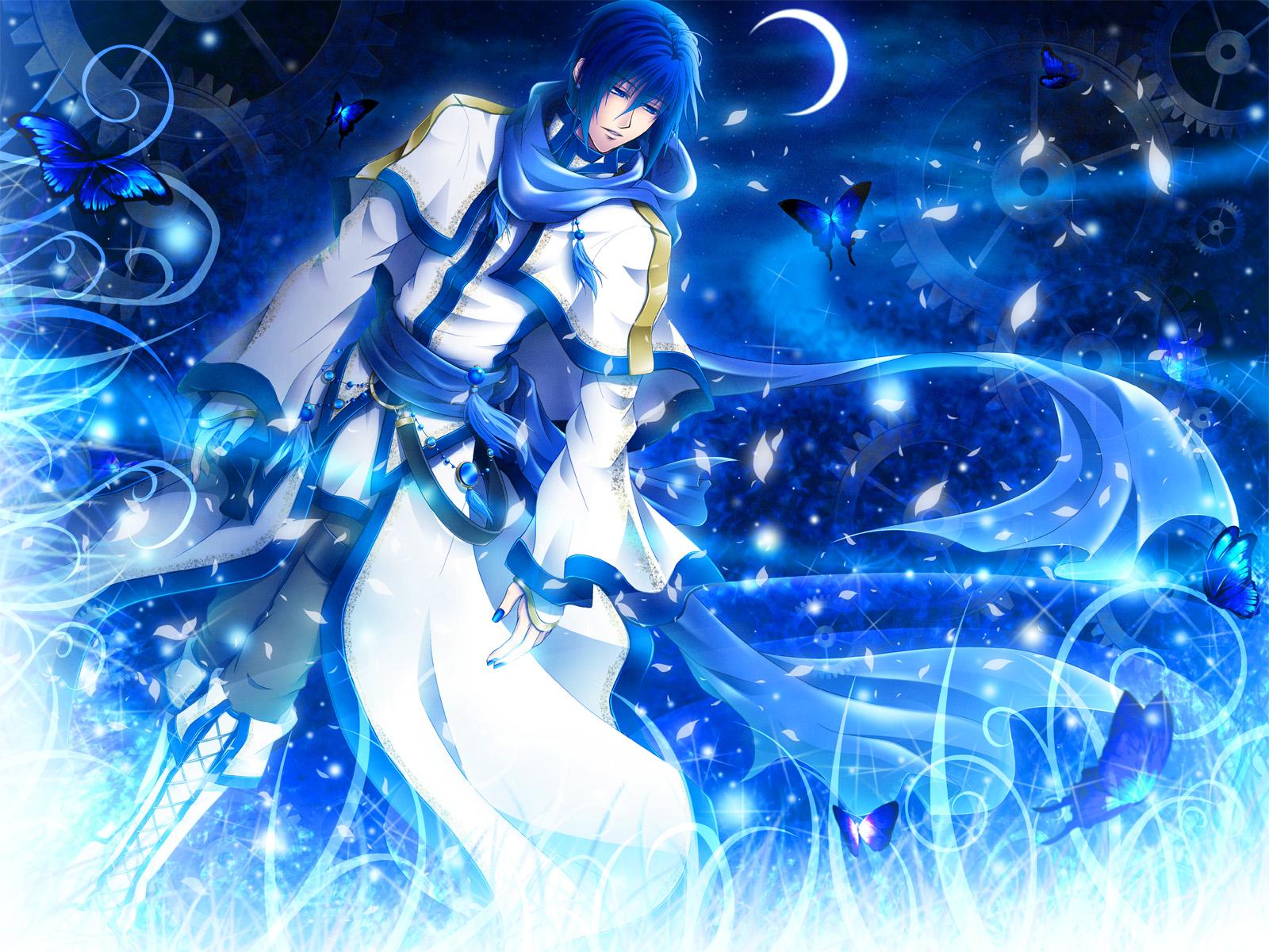 Anime - Vocaloid  - Kaito - Shion Papel de Parede