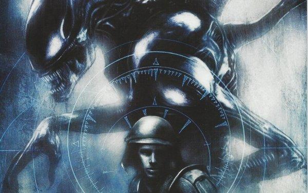 Comics Aliens: Colonial Marines Alien HD Wallpaper   Background Image