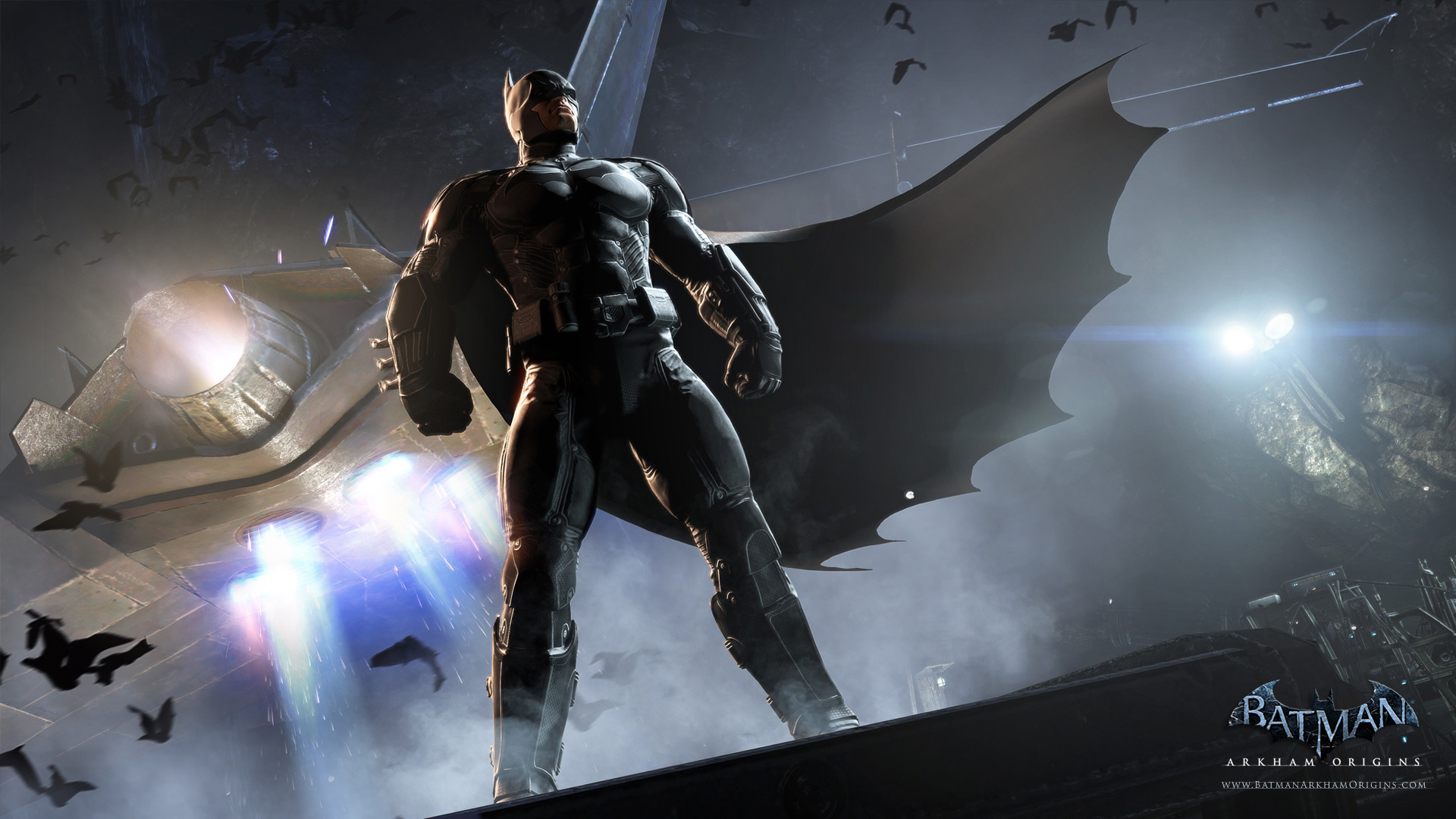 Batman Arkham Origins Full HD Wallpaper And Background Image