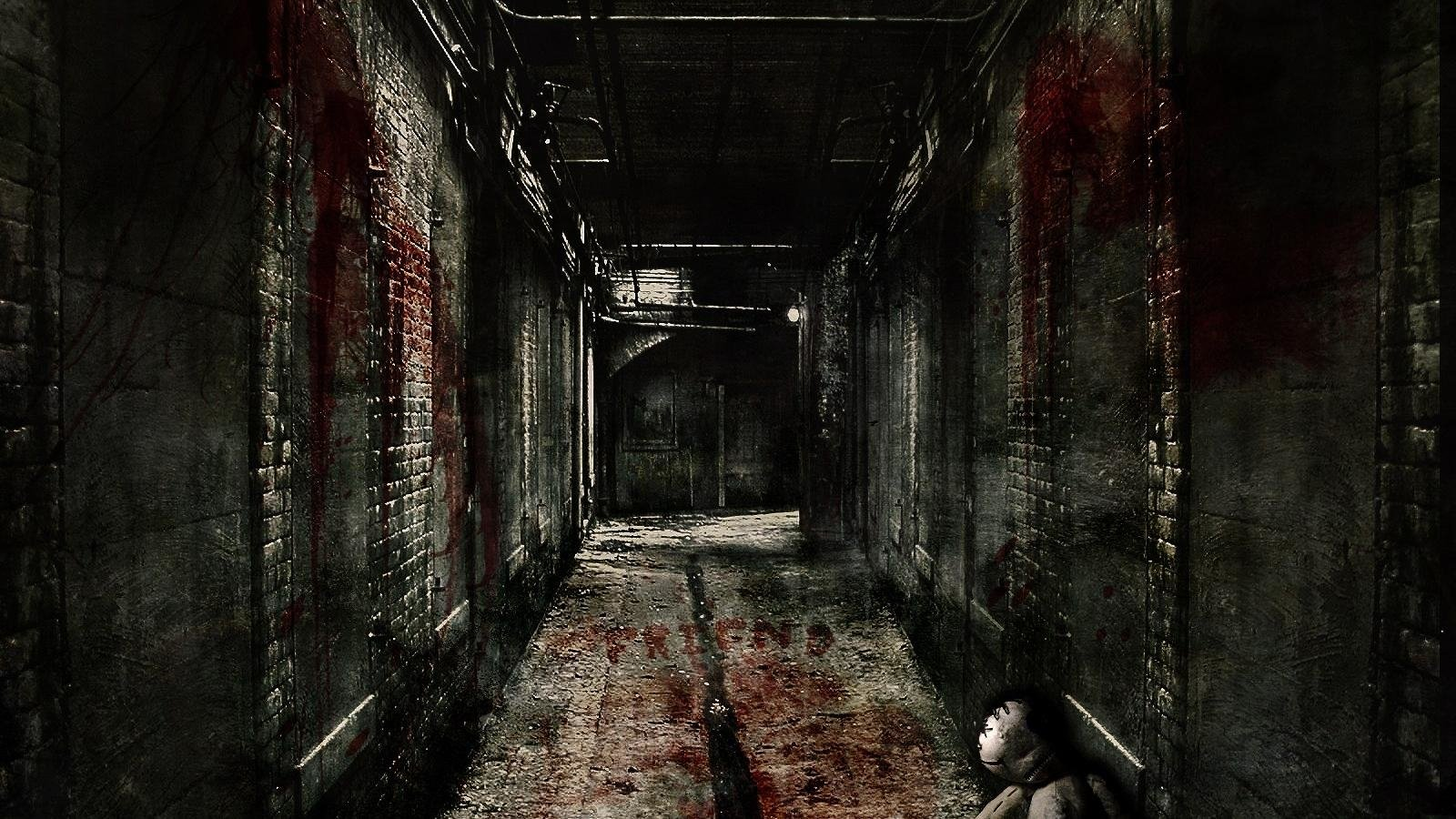 10 New Horror Movie Wallpaper Hd Full Hd 1920 1080 For Pc: Hallway Wallpaper And Background Image