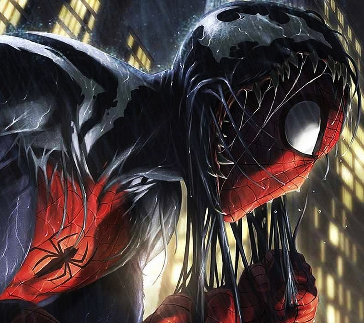 Spider-Man Wallpaper and Background Image | 1440x1280 | ID