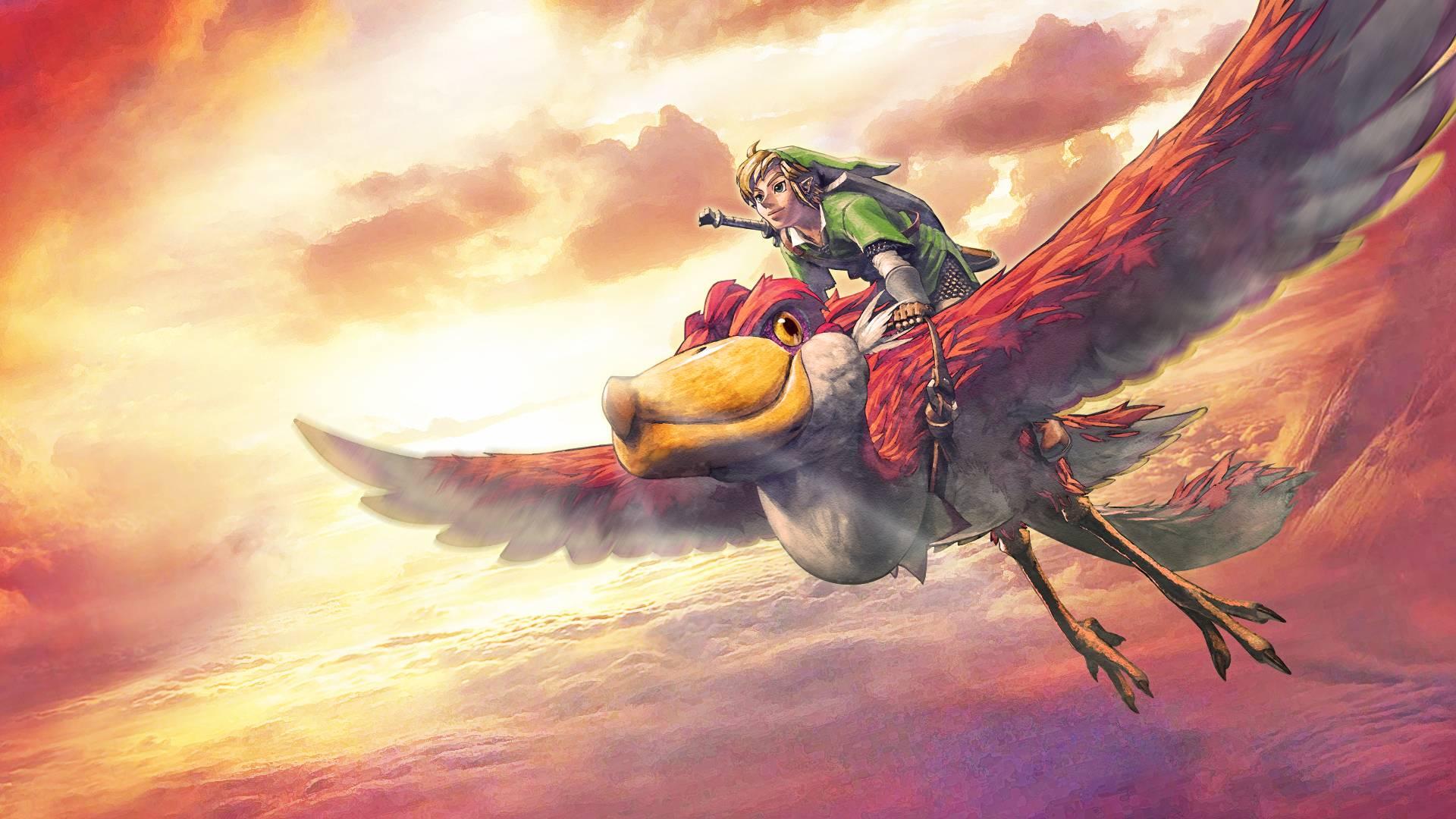 Legend Of Zelda Wallpaper 1920x1080: The Legend Of Zelda: Skyward Sword HD Wallpaper
