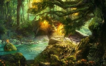 Fantasy - Landscape Wallpapers and Backgrounds ID : 447210