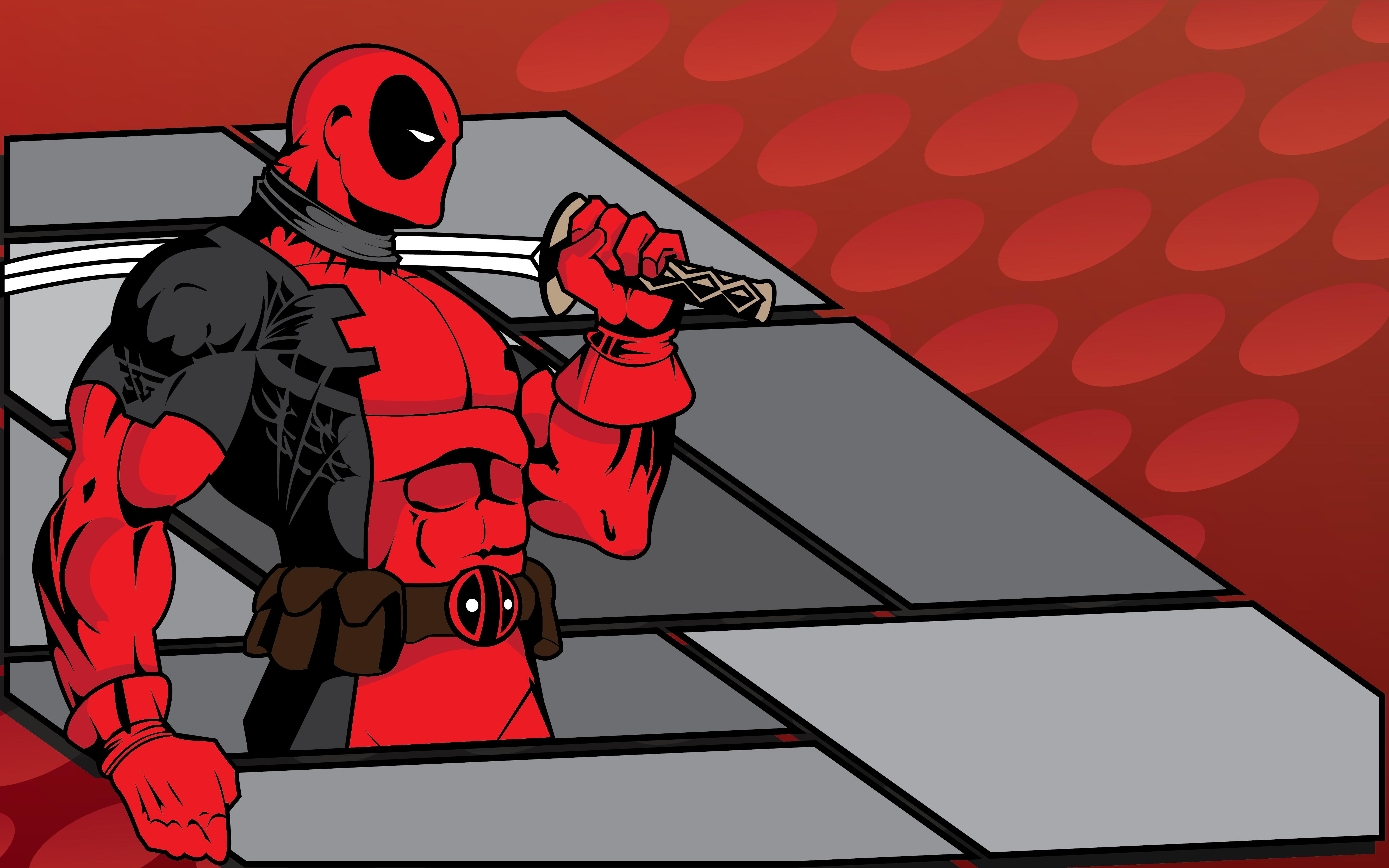 Deadpool 5k Retina Ultra Hd Wallpaper Background Image 5333x3335