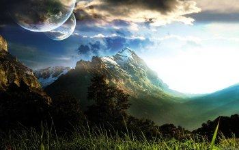 Science-Fiction - Landschaft Wallpapers and Backgrounds