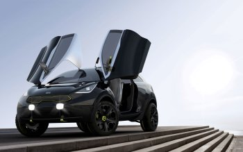 Vehicles - 2013 Kia Niro Concept Wallpapers and Backgrounds ID : 449824